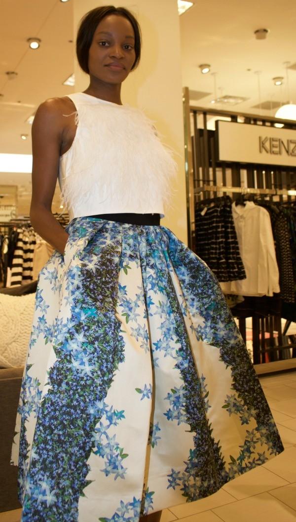 e4117b70c4 Tibi Sidewalk Full Floral Skirt and top - Pretty In Her Pearls