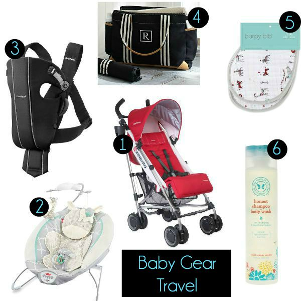 Baby Gear for Traveling
