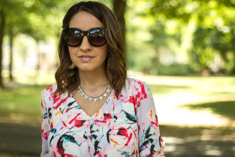 Accessories-Lisi Lerch earring and Stella and Dot necklace