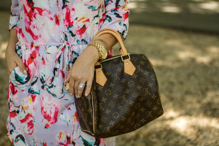 Accessories and Louis Vuitton bag