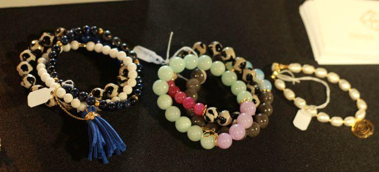 Brenda Grands Tassel bracelets