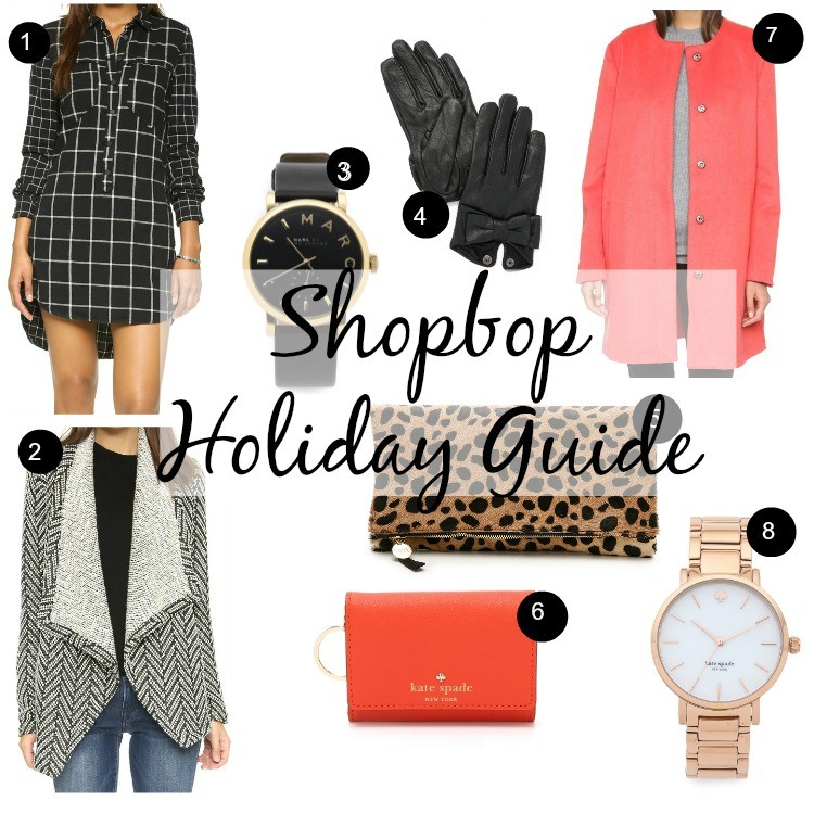 Shopbop holiday guide