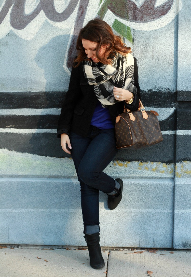 Winter style, and cuffed booties