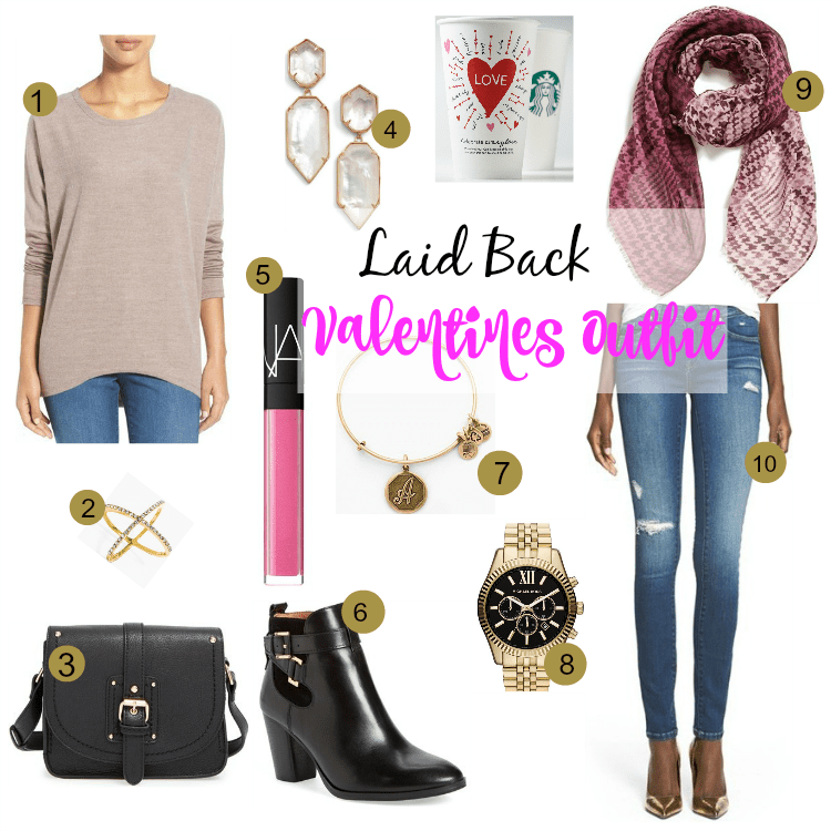 Laid Back Valentines Outfit