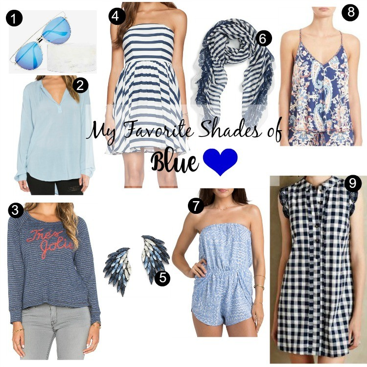 Favorite Pieces in Shades of Blue Pretty In Her Pearls