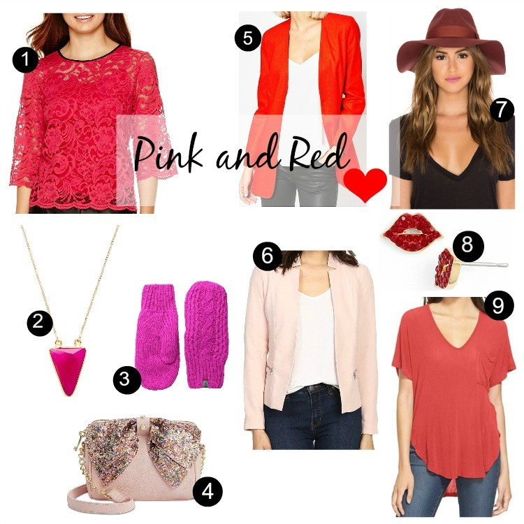 Pink and Red Inspiration Pieces