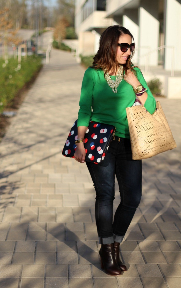 Preppy casual Friday outfit