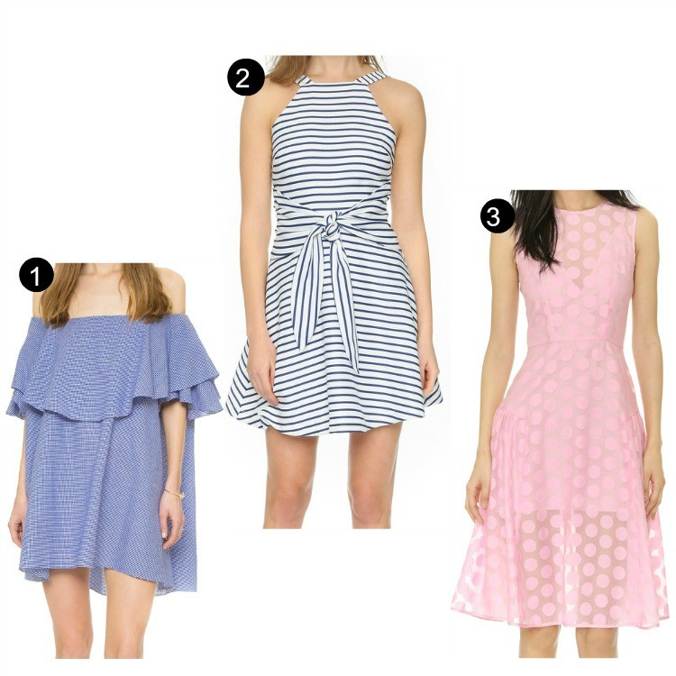 ShopBop Spring Sale Short Dresses