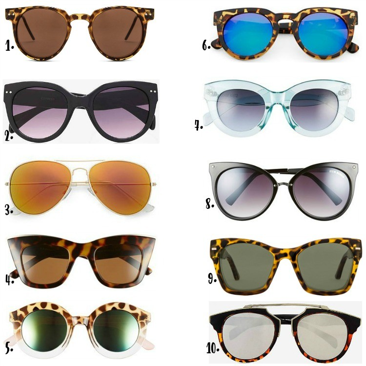 Summer Sunnies Under $50
