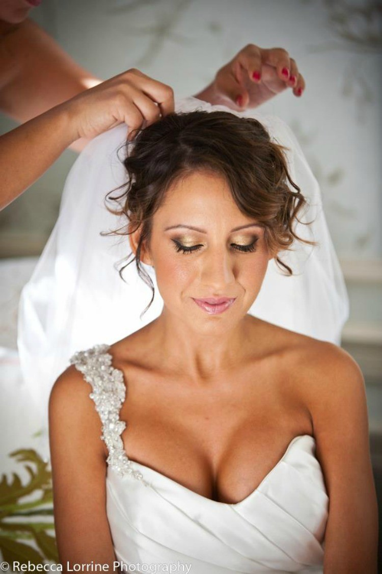 Bridal Look with Lash extensions
