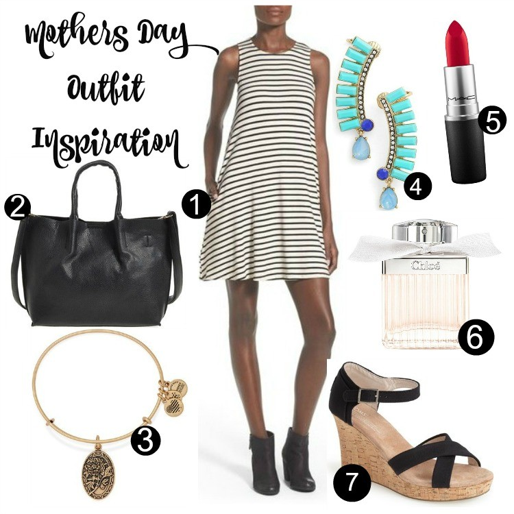 Mothers Day Outfit Inspirations with my favorite perfume