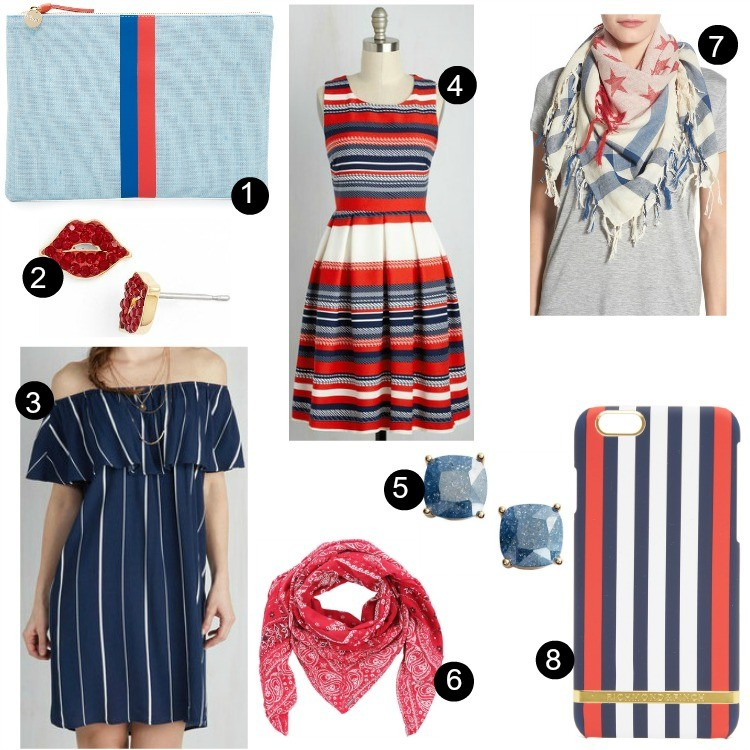 Fourth Of July Red, White and Blue Must Haves