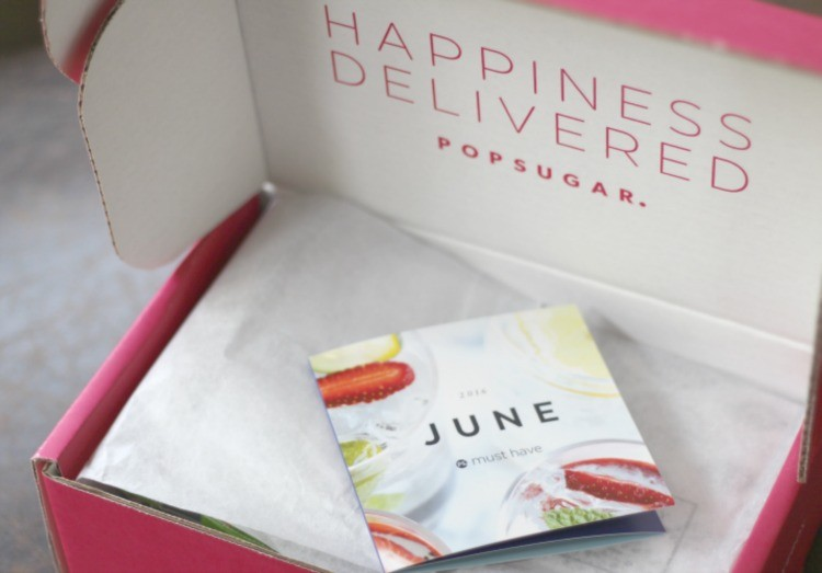 June Pop Sugar Box just arrived