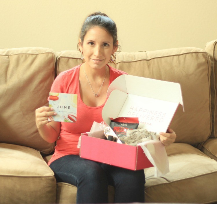 Opening the June Pop Sugar Subscription box