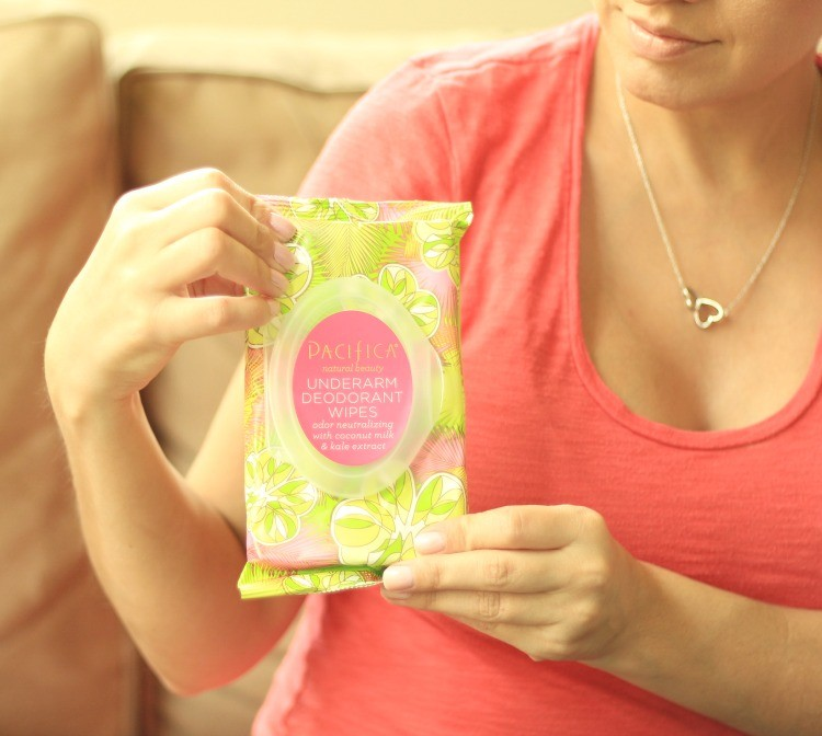 Pacifica Deodorant Wipes - Summer Must Have from the PopSugar Box