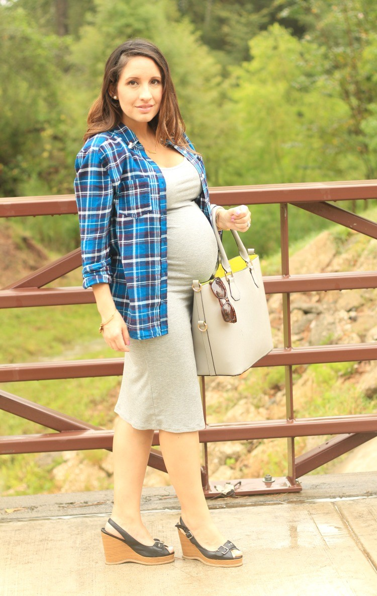 Lunch Date Outfit + Maternity Style