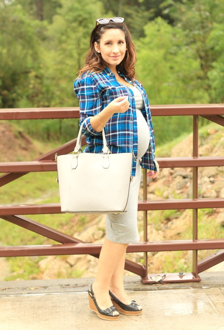 Pretty In Her Pears- Cute Maternity Outfit