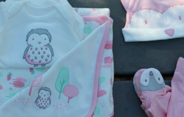 Baby Sofia's first outfit from Gymboree