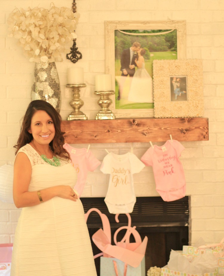 Pretty In Her Pearls Baby Girl Shower