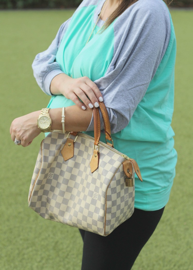 Mint Julep Boutique slouchy Dolman and the perfect fall side braid