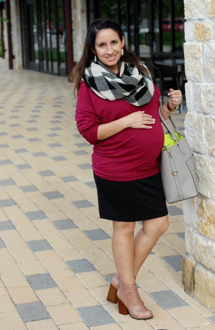 Dressing your baby bump in fall