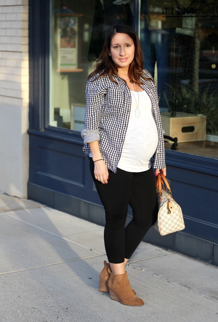 Must have black and white gingham top