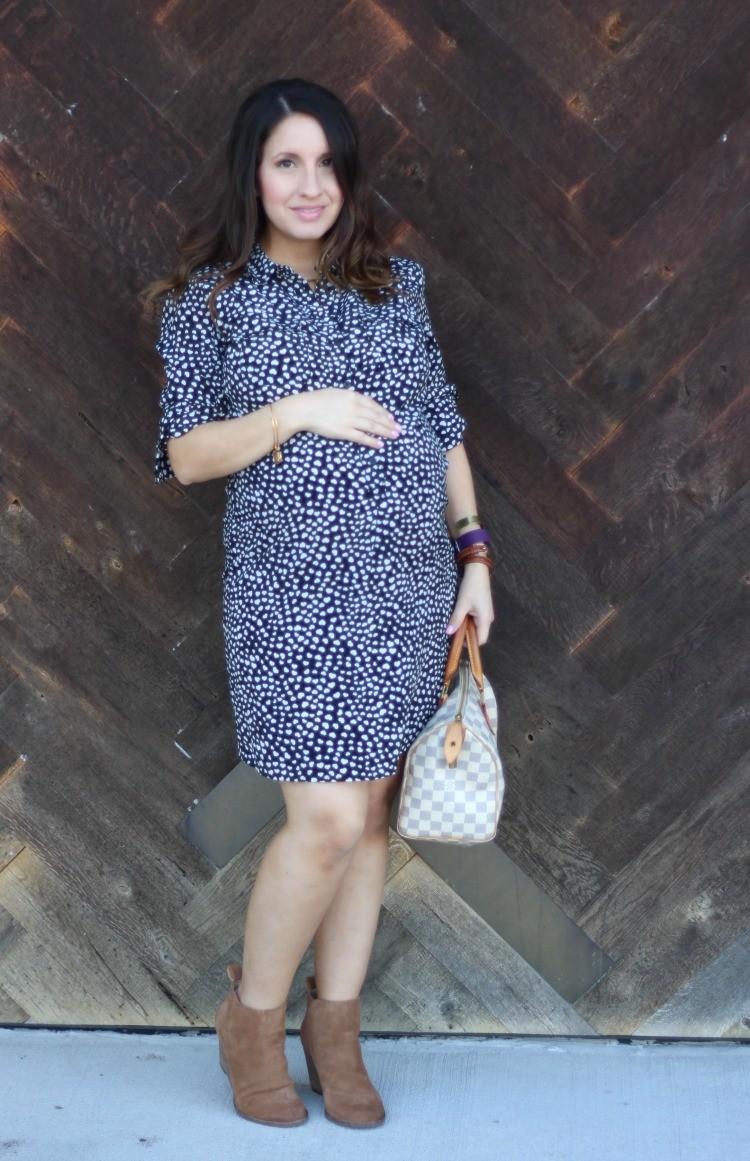 Petite fashion blog, loose waves, Houston fashion