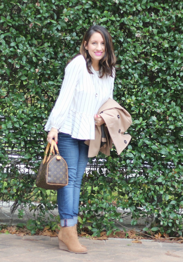 Petite Fashion Blog, Pretty In Her Pearls, Houston style, Post Baby Style, Mom Blogger, Style Blogger