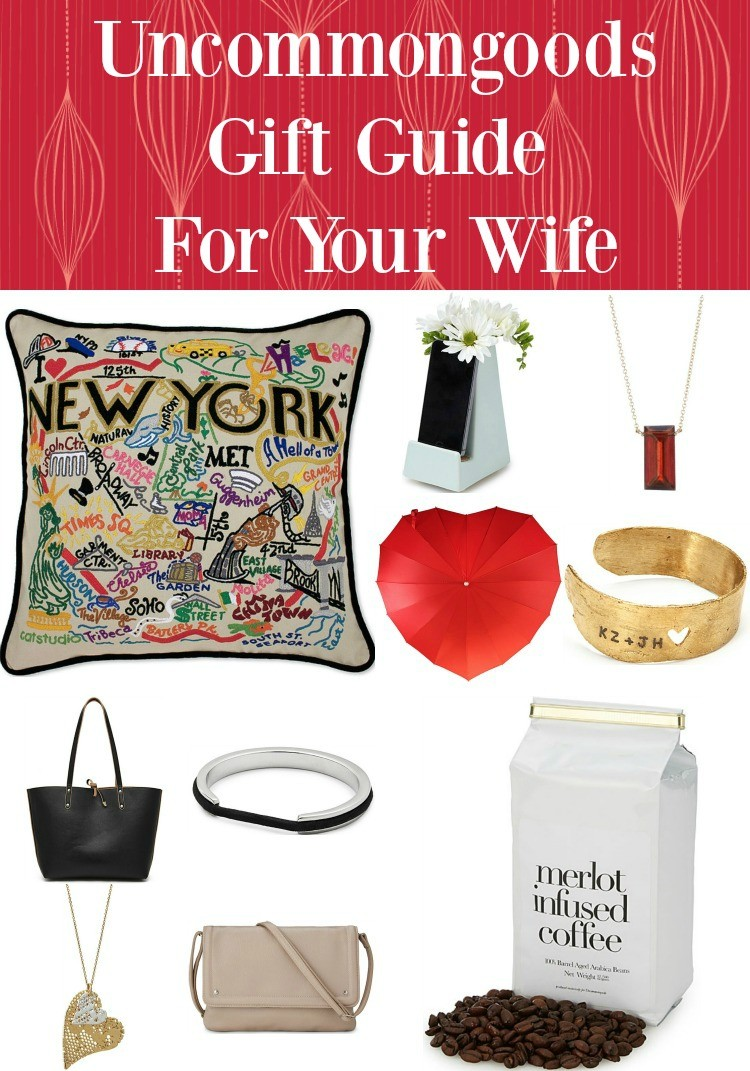 Uncommongoods Gift Guide For Your Wife