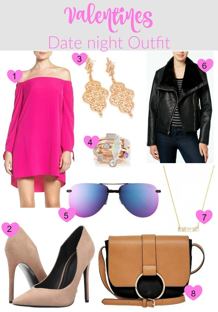 Valentines Date night outfit, Pretty In Her Pearls, Houston Blogger