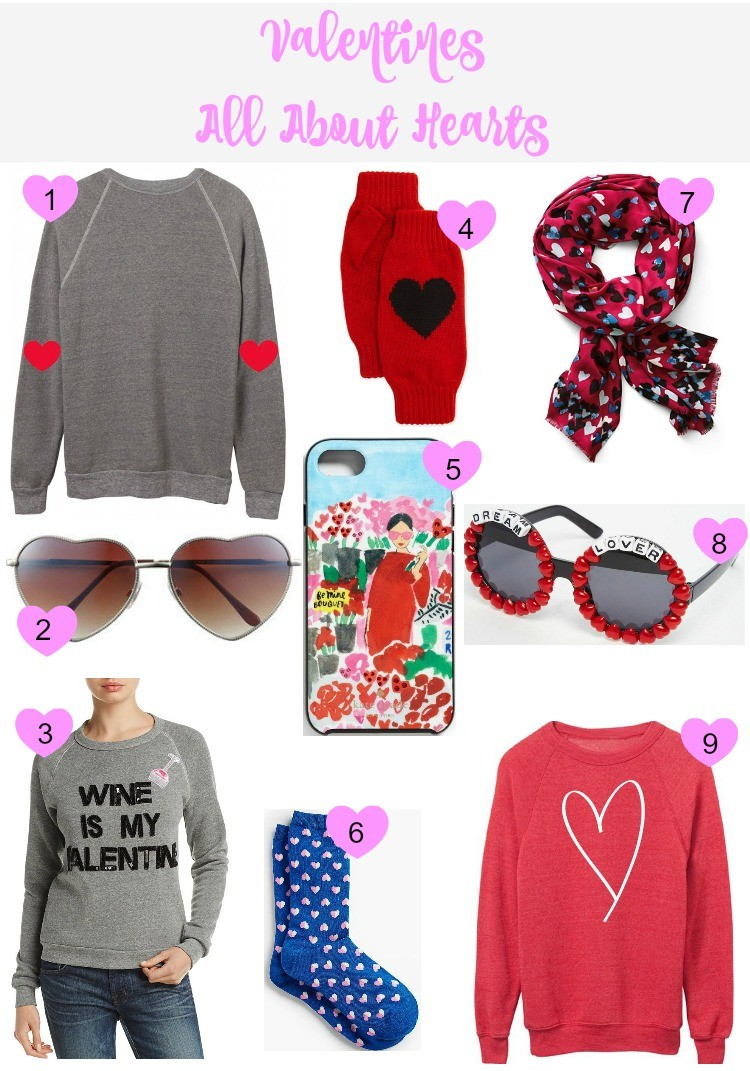 Valentines Heart Themed Clothing and Accessories, Houston Blogger, Pretty In Her Pearls