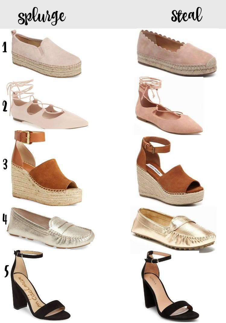 Splurge vs Steal, Splurge vs Steal Shoes, Pretty In Her Pearls