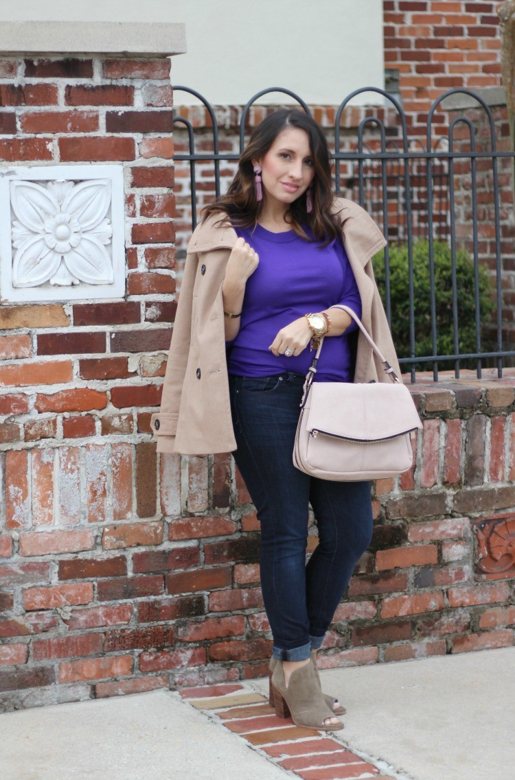 How to style a Tippi Sweater when you're petite | Pretty In Her Pearls | Petite blogger