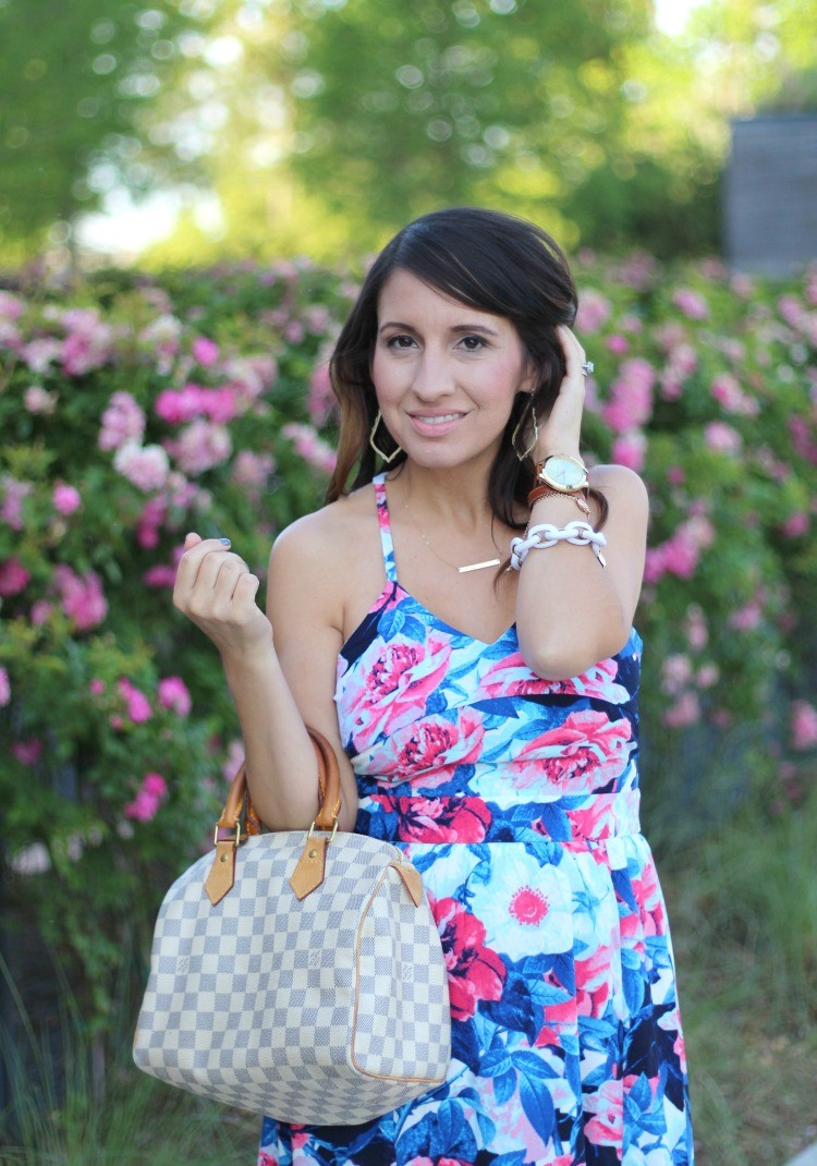 Spring must have dress | Pretty In Her Pearls | Houston Blogger
