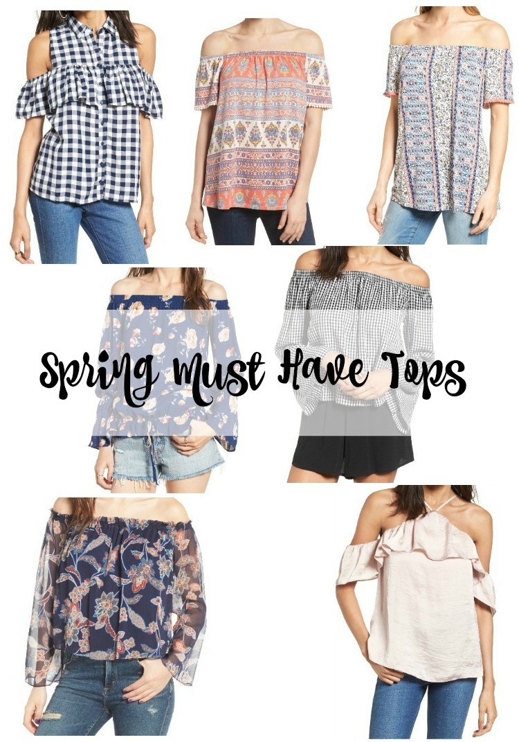 Spring must have tops | Pretty aIn Her Pearls | Houston Blogger