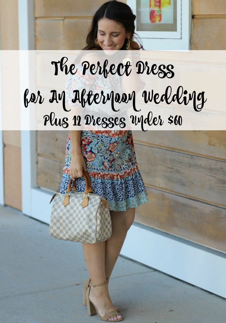 The Perfect Afternoon Wedding Guest Dress Under 60 Charles Henry