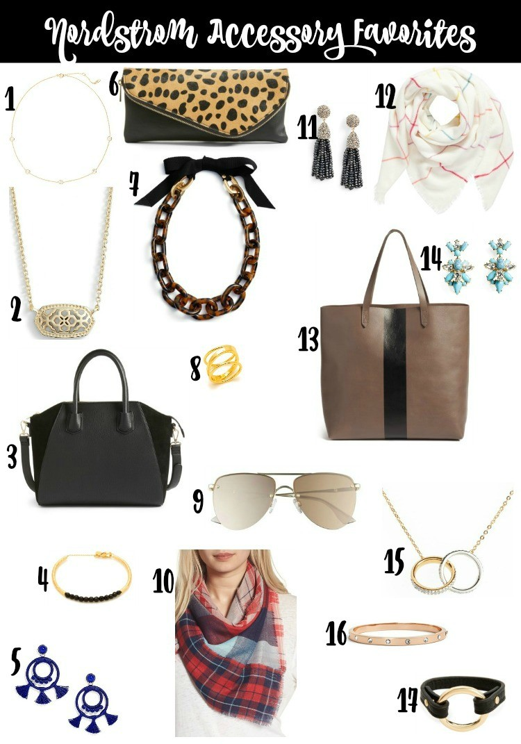 Nordstrom Accessory Favorites Listed