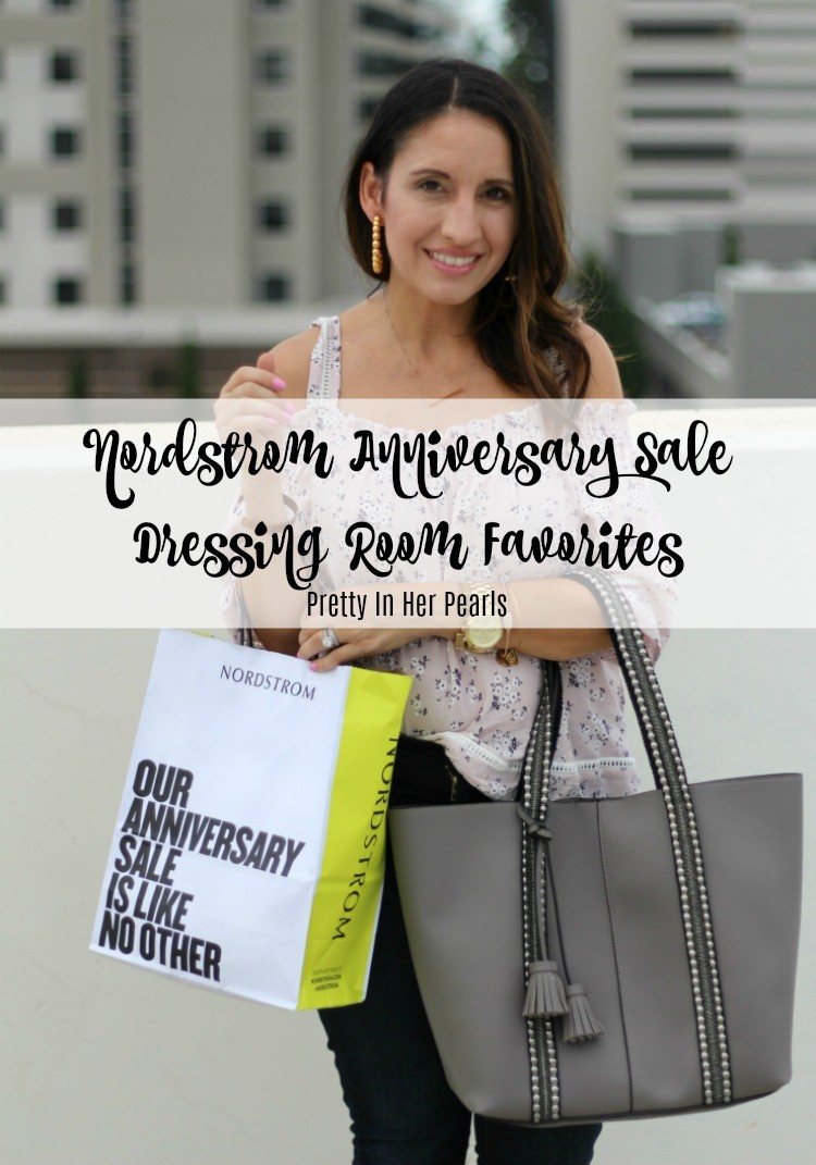 Nordstrom Anniversary Dressing Room Favorites, Pretty In Her Pearls, Houston Style Blogger, Petite Style Blogger