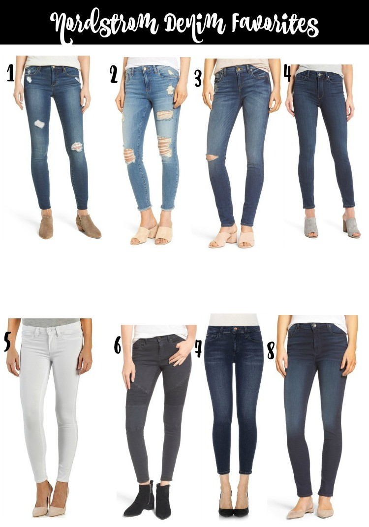 Nordstrom Denim Favorites Listed