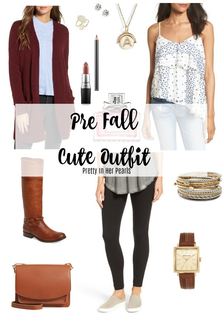 Pre Fall Outfit, Pretty In Her Pearls, Houston Blogger, Petite Blogger