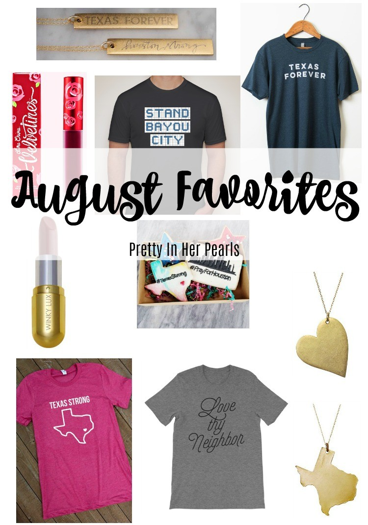 August Favorites, Pretty In Her Pearls, Style Blogger