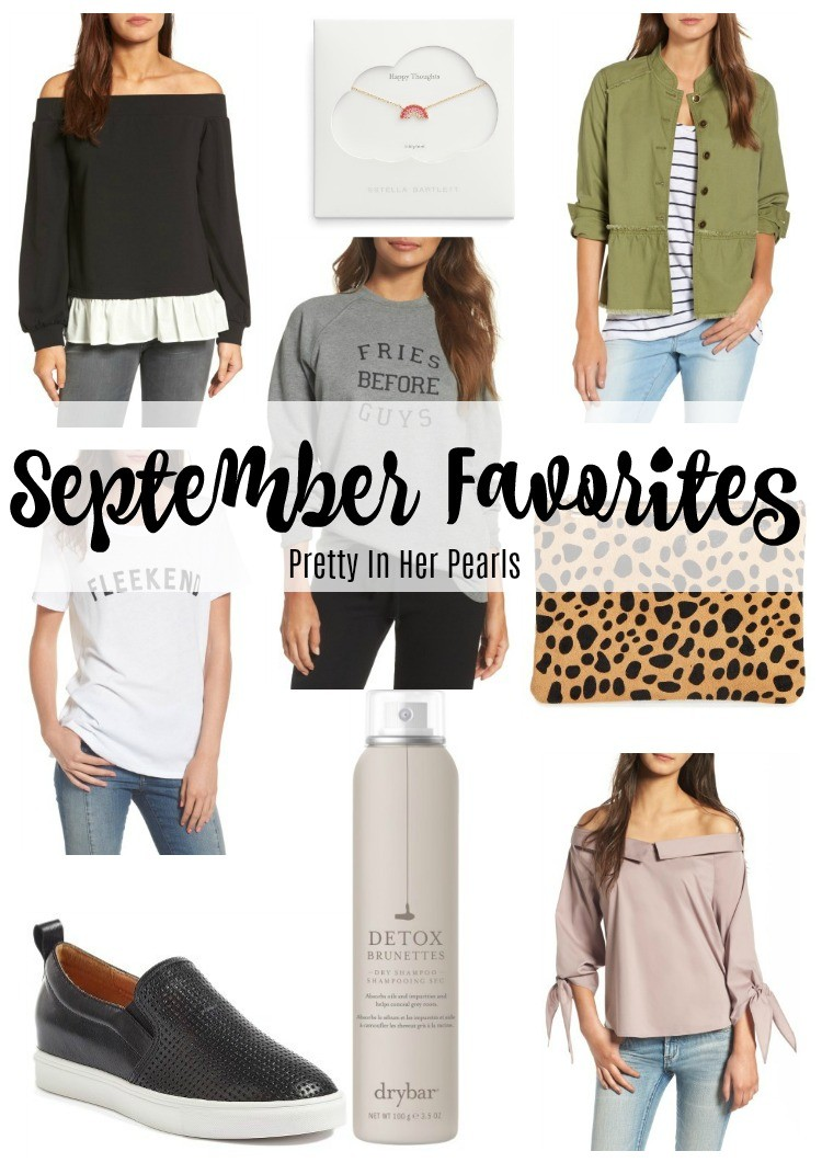 September Favorites 2017, Fall Favorites, Pretty In Her Pearls, Style Blogger