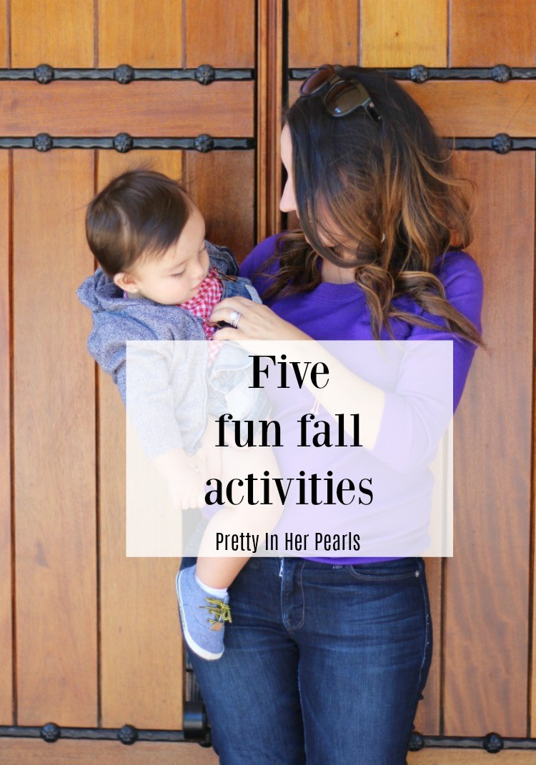Five Fun fall activities, Pretty In Her Pearls, Houston Blogger, Mom Blogger
