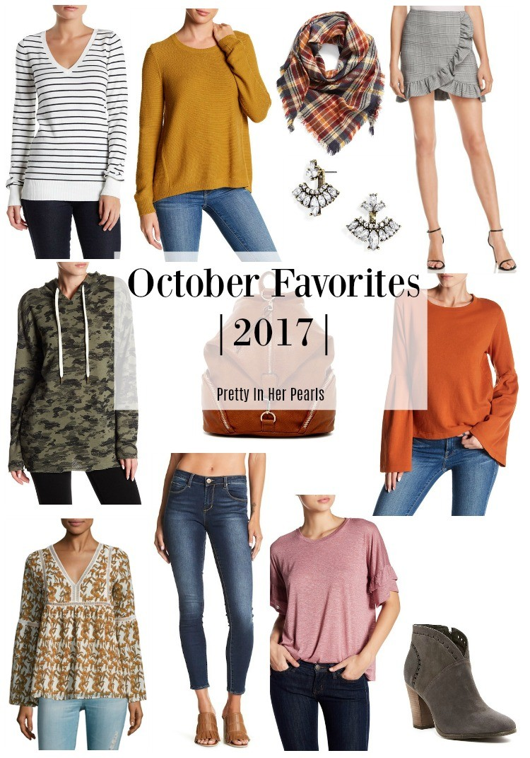 October Favorites 2017, Pretty In Her Pearls, Houston Blogger, Fall Fashion