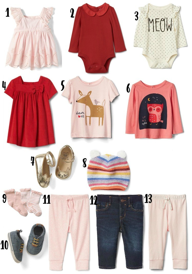 Baby Girl Favorites Baby Gap, Toddler Boy and Baby Girl Outfit Basics, Baby Clothes, Toddler Boy Clothes, Gap Kids, Houston Blogger, Pretty In Her Pearls