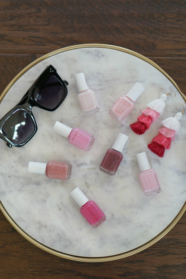 7 favorite Pink Nail polishes, 7 Favorite Nail Polishes, Valentines Nails, Pretty In Her Pearl, Houston blogger