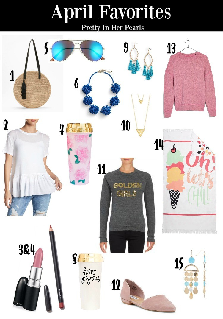 April Favorites 2018, April Favorites, April Must haves, Must haves, Pretty In Her Pearls, Petite Blogger, Spring Fashion