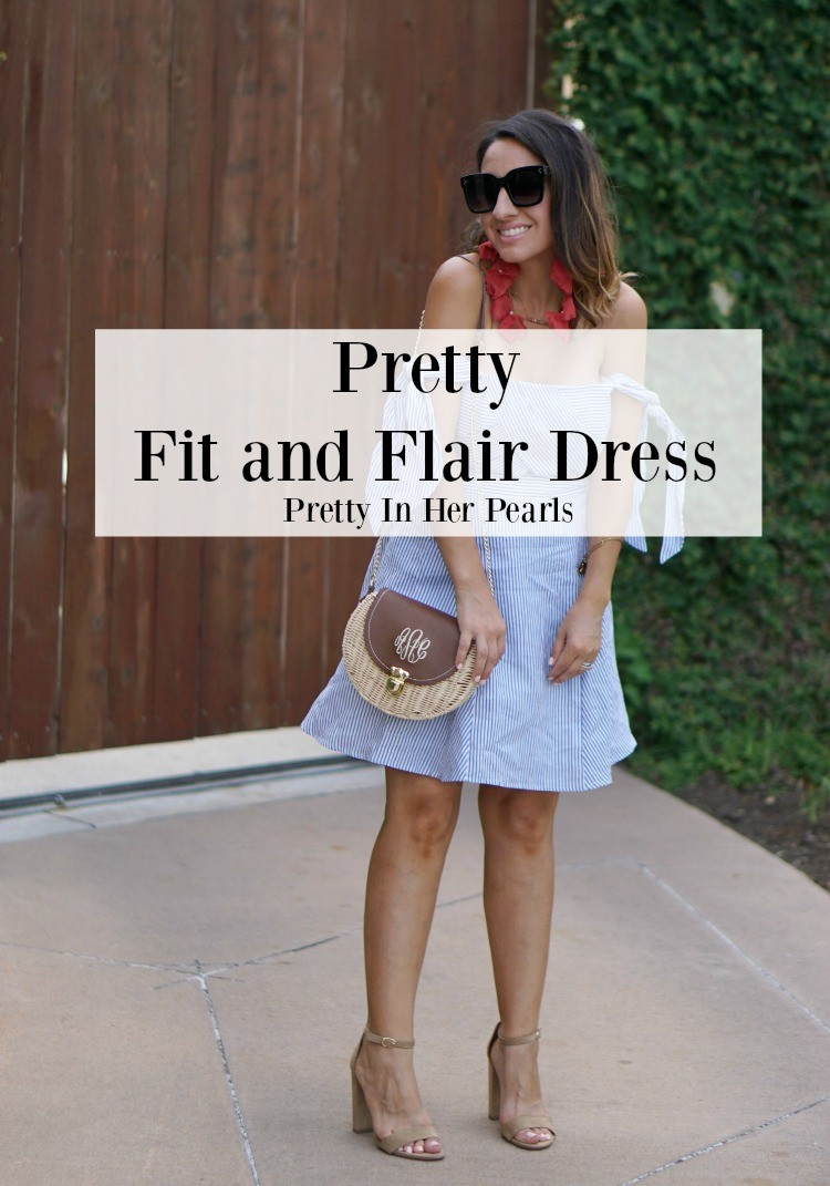 Pretty Fit and Flair Dress