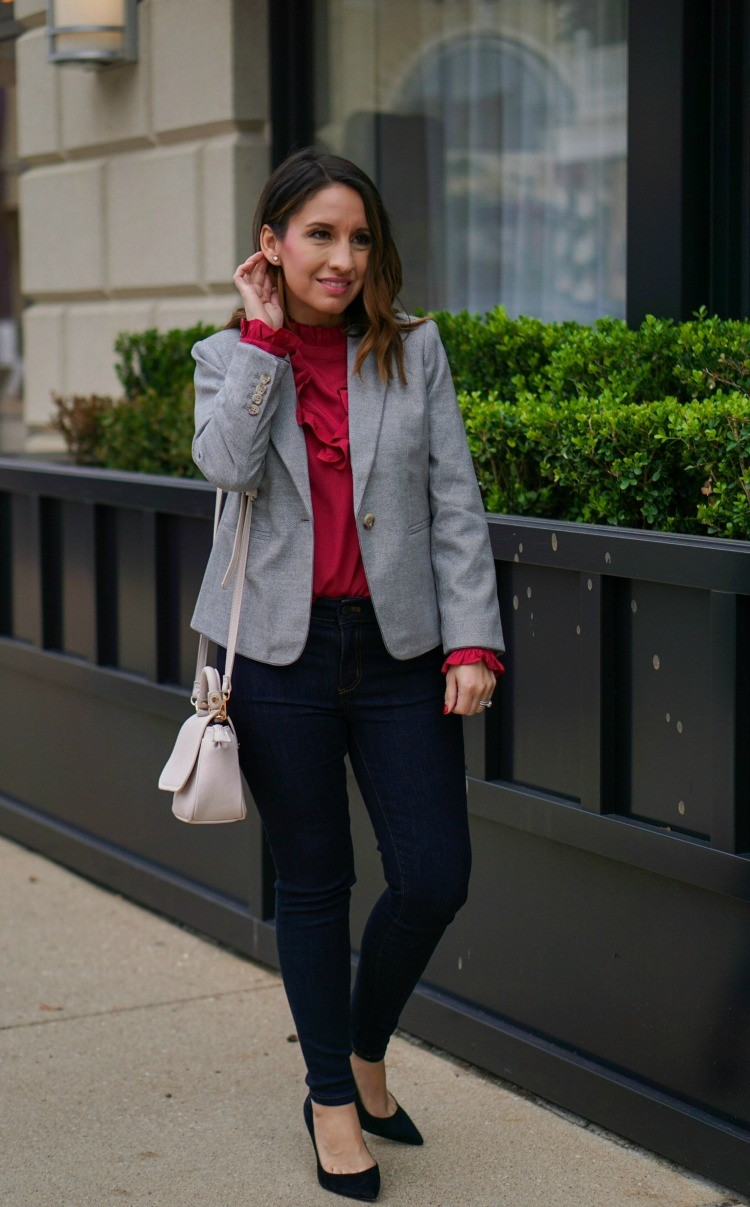 Ann Taylor Cute Professional Outfit
