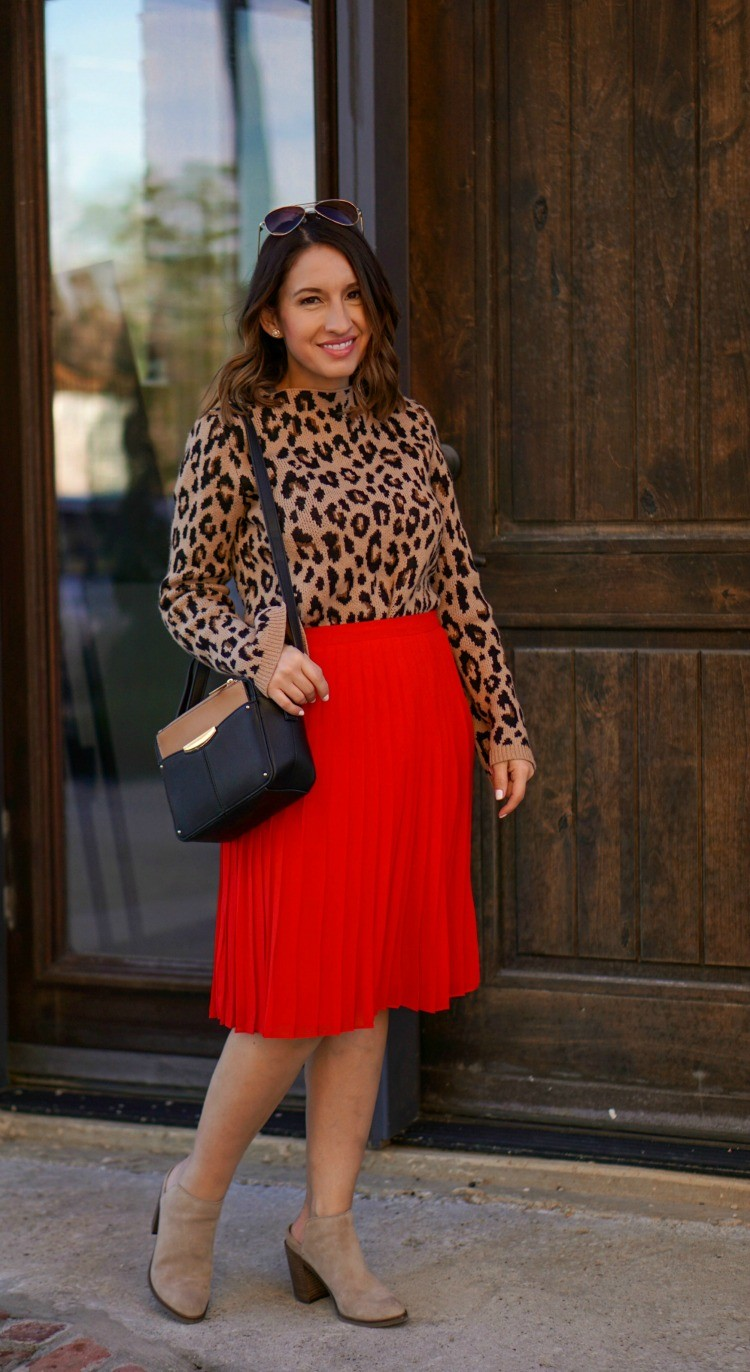 Ann Taylor Festive Holiday Outfit